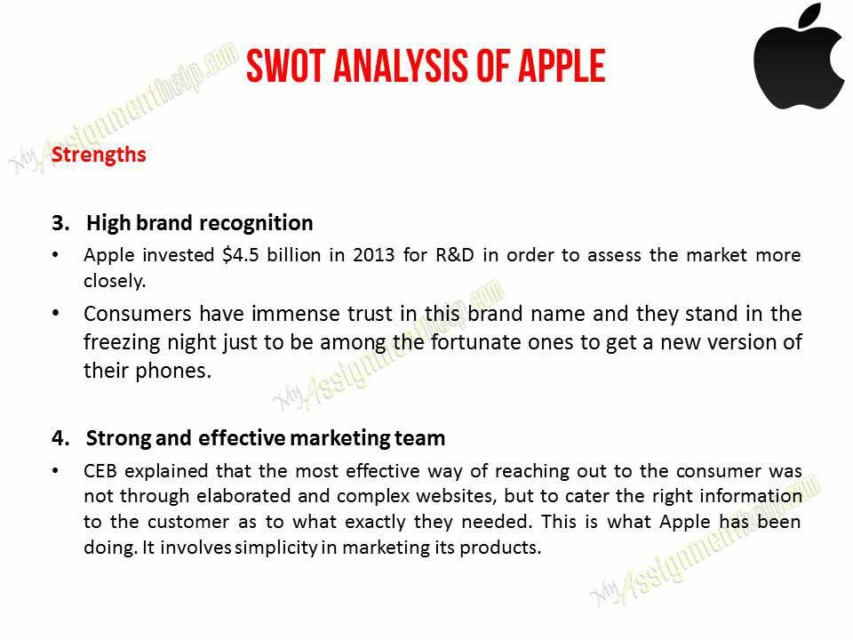apple swot analysis 2010